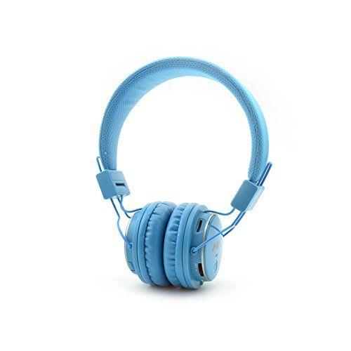 photo Wallpaper of Aitalk-Tragbare Wireless Bluetooth Kopfhörer über Ohr, Aitalk Q8Stereo Faltbar Headsets-hellblau