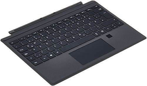 photo Wallpaper of Microsoft-Microsoft Surface Pro Signature Type Cover Schwarz Mit Fingerprint ID-schwarz
