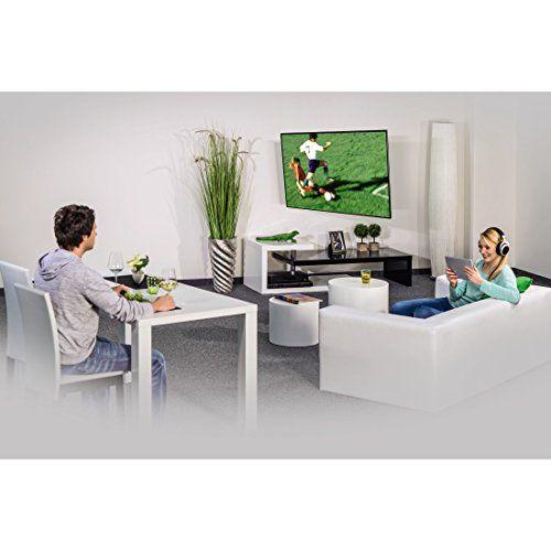 photo Wallpaper of Hama-Hama TV Wandhalterung Schwenkbar Neigbar LCD LED Wandhalter (vollbeweglich) Für Fernseher Mit-Schwarz