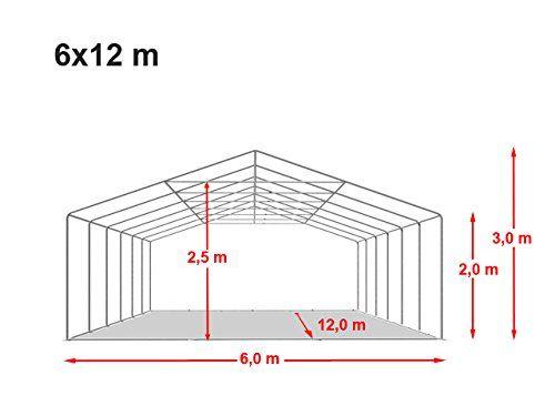 photo Wallpaper of Unbekannt-Festzelt Partyzelt 6x12 M PREMIUM, Hochwertige 500/m² PVC Plane In-Grün / Weiß