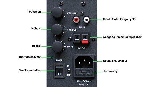 photo Wallpaper of E-Lektron-E Lektron EWL5A Stereo Aktiv Lautsprecher Paar Inkl. Wandhalter -Weiß