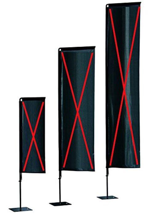 photo Wallpaper of Scribo-240 Cm Breiten Rechteckigen Flaggen   Erschwingliche Indoor, Outdoor Beachflag In 2400mm,-schwarz