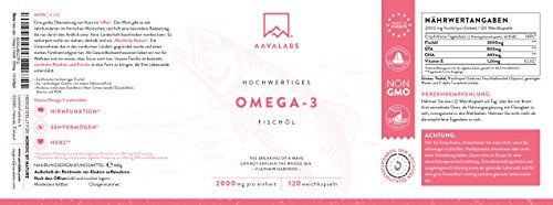 photo Wallpaper of Aava Labs-Omega 3 De Aceite De Pescado [ 2000 Mg ] De Aava-
