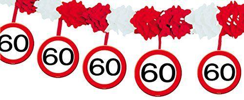 photo Wallpaper of Unbekannt-23 Tlg. Partyset 60. Geburtstag Dekoset Dekobox   Verkehrschild  -