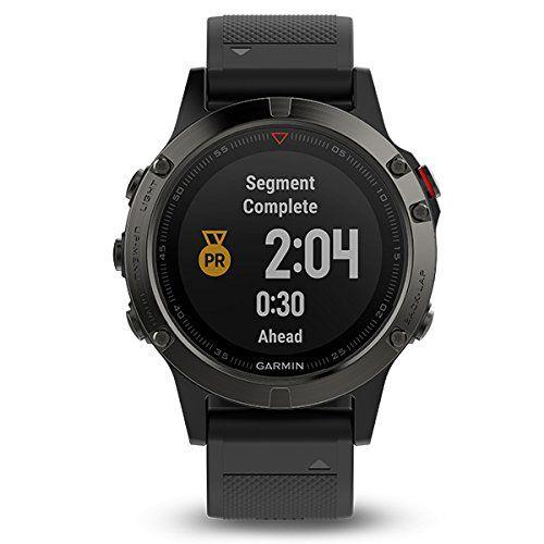 photo Wallpaper of Garmin-Garmin Fenix 5  Reloj Multideporte, Con GPS Y Medidor De Frecuencia-Gris/Negro