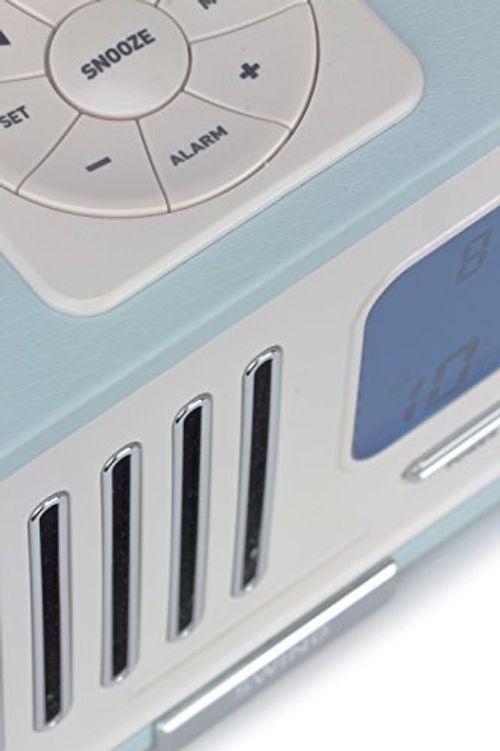 photos of KitSound Swing FM Radio Mit Wecker Alarmfunktion Batterie  Oder Netzbetrieben (UK Netzstecker)   Hellblau Mit Kostenlosem Versand Kaufen   model Home Theater