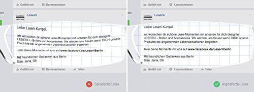 photo Wallpaper of leserli-Kompakte Leichte Randlose Lesebrille Lesehilfe Mit Etui In Vier Farben Von Leserli-