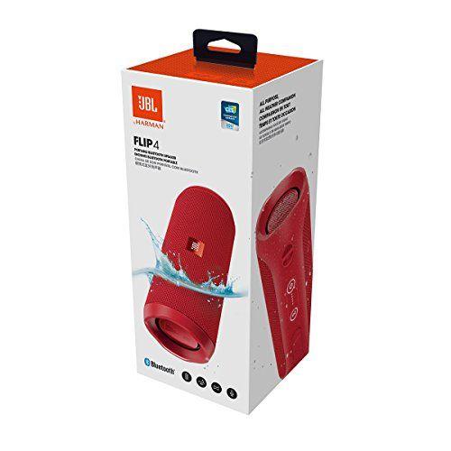 photo Wallpaper of JBL-JBL FLIP 4 (Ein Voll Ausgestatteter, Wasserdichter Und Mobiler Bluetooth Lautsprecher-Rot