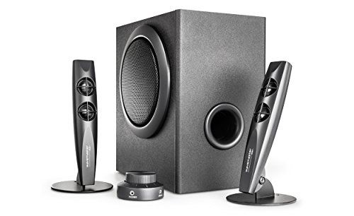 photo Wallpaper of Wavemaster-Wavemaster STAX BT 2.1 Lautsprecher System (46 Watt) Mit Bluetooth Streaming Aktiv-Schwarz