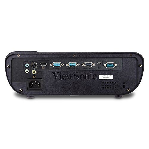 photo Wallpaper of ViewSonic-Viewsonic PJD5155 DLP Projektor (SVGA, 3.300 ANSI Lumen, HDMI, Lautsprecher, Optischer Zoom) Schwarz-Schwarz