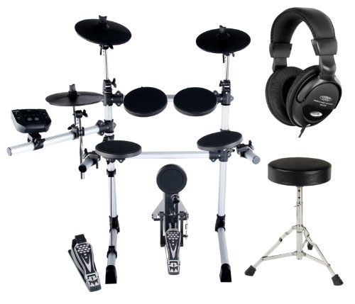 photo Wallpaper of XDrum-XDrum DD 402 E Drum Set Komplettset Inkl. Hocker &-
