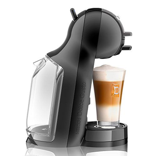 photo Wallpaper of Krups Dolce Gusto-Krups KP 1208 Nescafé Dolce Gusto Mini Me Kaffeekapselmaschine (1500-Anthrazit/Grau