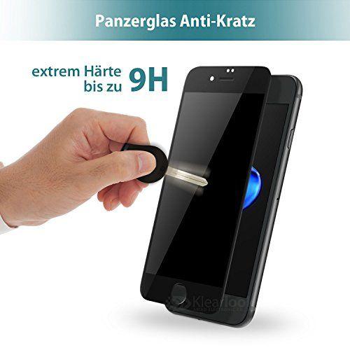 photo Wallpaper of Klearlook-Apple IPhone 7 8 Panzerglas, Klearlook Privacy Glasfolie, Blickschutz, Anti-Diamantschwarz [Anti-Spy]