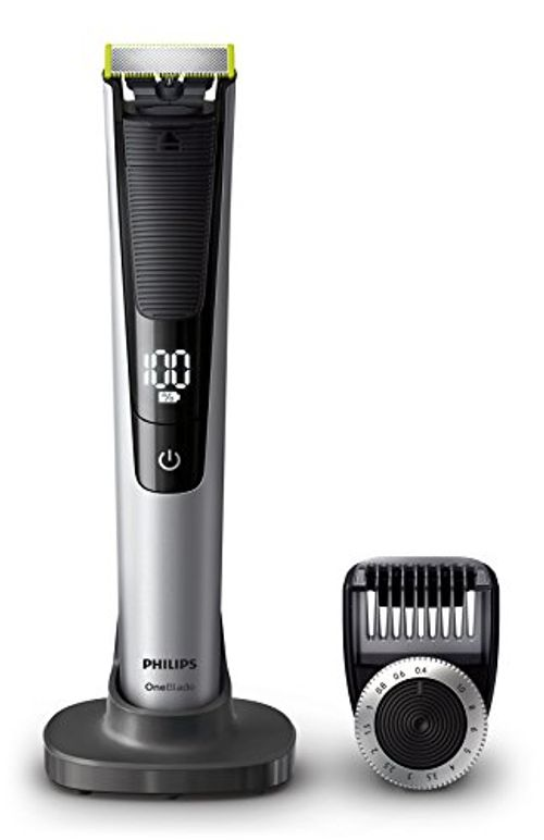 photo Wallpaper of Philips-Philips OneBlade Pro QP6520/30   Recortador De Barba Con Peine-