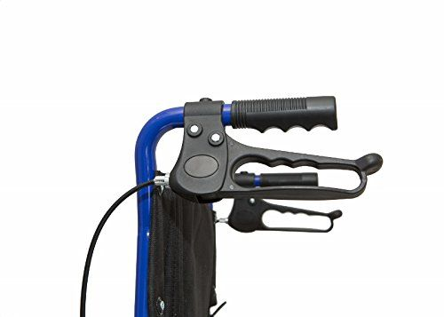 photo Wallpaper of RHealthcare-Dash Express Ultra Ligero, Fácil Plegable Silla De Ruedas – Pesa Sólo 9,8 Kg-azul
