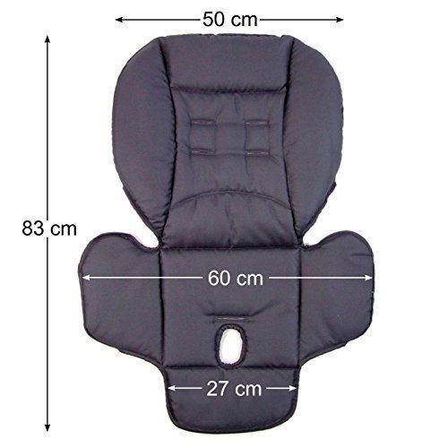 photo Wallpaper of Babys-Dreams-BambiniWelt Cojín De Asiento, Funda De Repuesto Para Trona Peg Perego-marrón