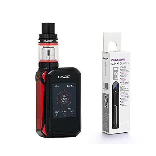 photo Wallpaper of PEACEVAPE-AUTÉNTICO SMOK G Priv 2 Kit 230W Pantalla Táctil TFV8 X Baby 2mL Tank-negro