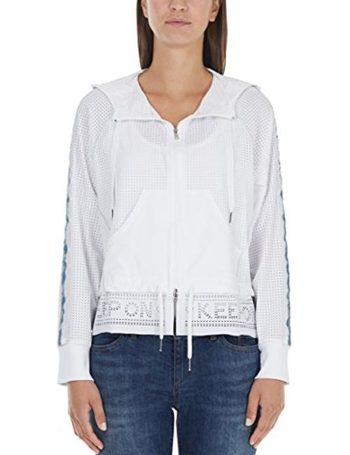 photo Wallpaper of Marc Cain Sports-Marc Cain Sports Damen Jacke JS 31.44 J56, Mehrfarbig (White-Mehrfarbig (White 100)