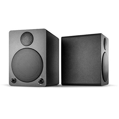 photo Wallpaper of Wavemaster-Wavemaster Cube Black Regal Lautsprecher System (50 Watt) Mit Bluetooth Streaming Aktiv Boxen Nutzung-Schwarz