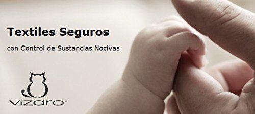 photo Wallpaper of Vizaro-Vizaro   Funda De Recambio Para Cojín De Lactancia   100% Algodón-Gris Blanco