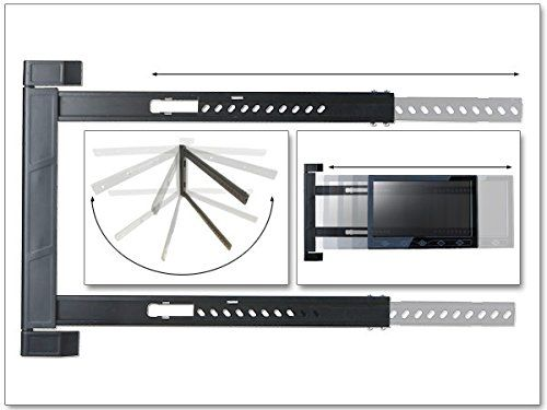 photo Wallpaper of DRALL INSTRUMENTS-TV Wandhalterung Halterung LED LCD 180° Grad Klappbar Erker Ecke-
