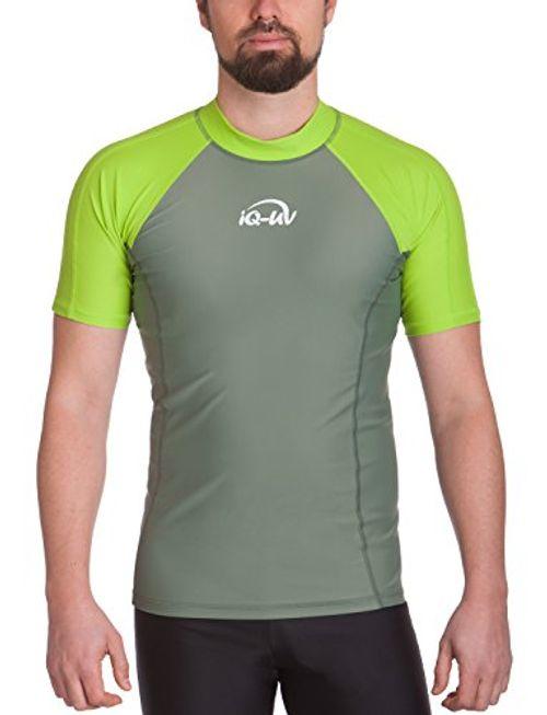 photo Wallpaper of iQ-UV-IQ UV Herren 300 Eng Geschnitten Schutz T Shirt Uv-neon green_515