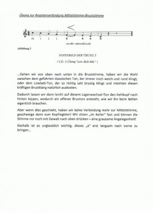 photo Wallpaper of Bonin, Christel / SMU Verlag-Belt Voice Training: Gesangstechnik Für Musical, Pop, Soul, Jazz &-