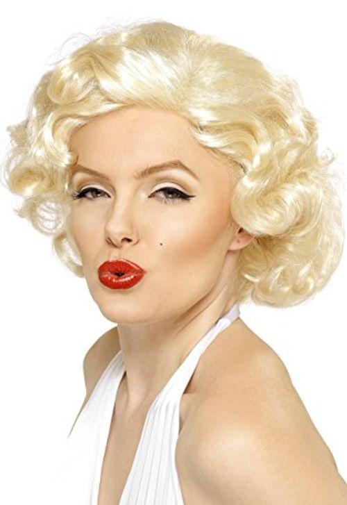 photo Wallpaper of Smiffys-Marilyn Monroe Sexbombe Perücke Kurz, One Size-blondine