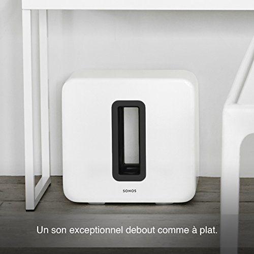 photo Wallpaper of Sonos-Sonos SUB WLAN Subwoofer Für Sonos Speaker (Weiß)-weiß