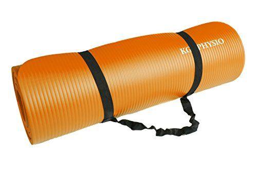 photo Wallpaper of KG Physio-Rutschfeste Yogamatte Von KG | PHYSIO   Dicke Premium-Orange
