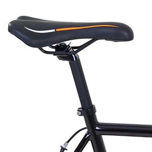 photo Wallpaper of Galano-700C 28 Zoll Fixie Singlespeed Bike Galano Blade 5 Farben Zur Auswahl,-Schwarz / Orange