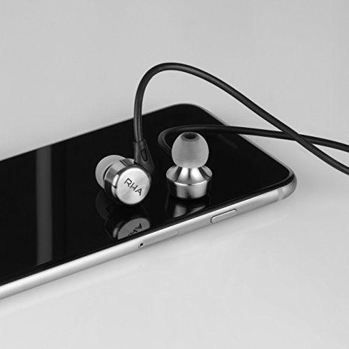 photo Wallpaper of RHA-RHA MA750i Hochwertiger Geräuschisolierender In Ear Kopfhörer Mit Fernbedienung Und-Chrome