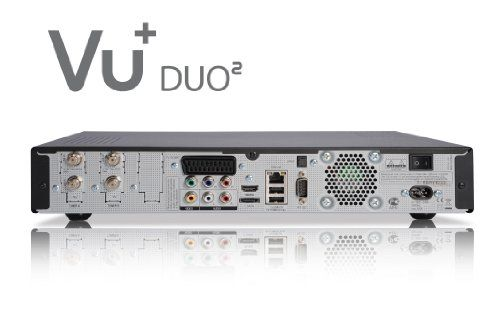 photo Wallpaper of VU+-VU+ Duo² 1x DVB S2 Dual 1x DVB C/T Tuner Full HD 1080p-Schwarz