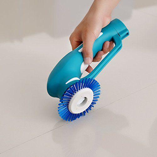 photo Wallpaper of ICOCO-ICOCO Scrubber Cepillo Para Cocina & Baño Eléctrica De Mano Cepillo De Limpieza Con-Azul