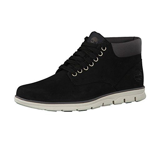 photo Wallpaper of Timberland-Timberland Herren Bradstreet Leather Sensorflex Chukka Boots-Schwarz