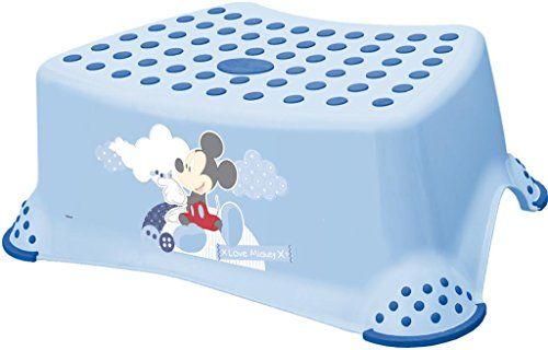 photo Wallpaper of Plastimyr-Taburete Antideslizante Para Niños MICKEY Di OKT Color: Azul-Azul