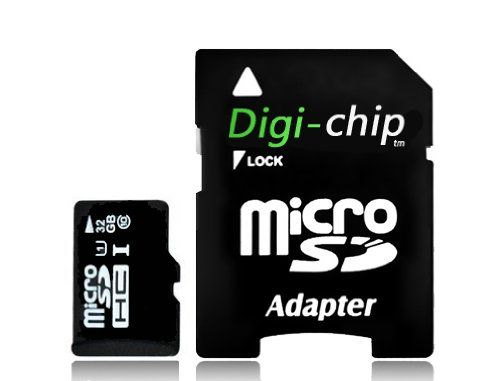photo Wallpaper of Digi-Chip-Digi Chip 32GB Micro SD Class 10 UHS 1 Speicherkarte Für SAMSUNG GALAXY S4,-