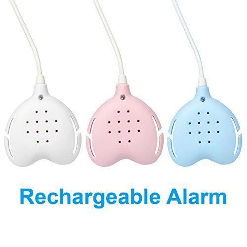 photo Wallpaper of TEQIN-TEQIN Best Care Bedwetting Enuresis Alarm, 3 Funciones Alarma De Humectación De-Blanco