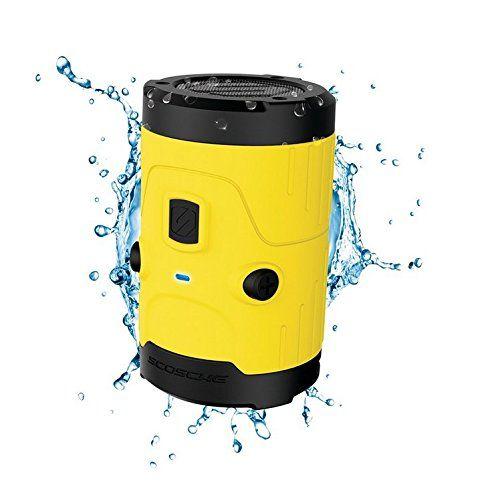 photo Wallpaper of Scosche-SCOSCHE   BoomBottle H2O IPX7 Wasserdichter Bluetooth Lautsprecher 5 Watt I IOS-Gelb