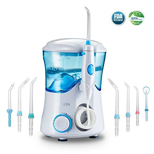 photo Wallpaper of HONZIN-Irrigador Dental Irrigador Bucal De HONZIN, 600ml Capacidad Familía Oral Sanidad-