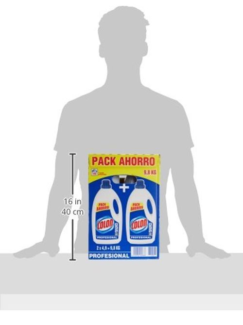 photo Wallpaper of Colon-Colon Detergente Liquido Azul Profesional   9800 G-