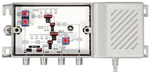 photo Wallpaper of Axing-Axing BVS 15 68 Hausanschlussverstärker (38dB, 1006MHz, 100dBµV) Mit Aktivem-