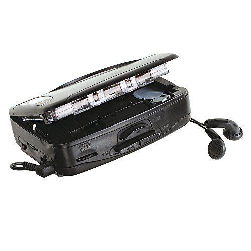 photo Wallpaper of Clip Sonic Technology-Walkman Tragbarer Kassettenrekorder Kassettenspieler Mit In Ear Kopfhörer (Retro, Radio,-