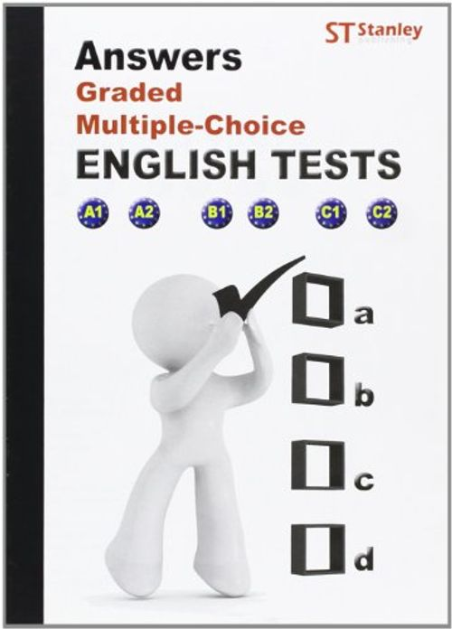 photo Wallpaper of -Answers, Graded Multiple, Choice. English Test-