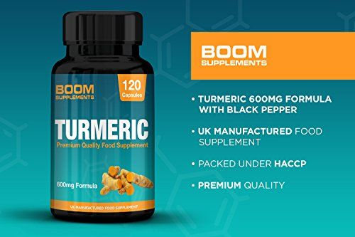 photo Wallpaper of Boom Supplements-Cúrcuma 600mg De Máxima Potencia | 120 Cápsulas De Cúrcuma Orgánica-