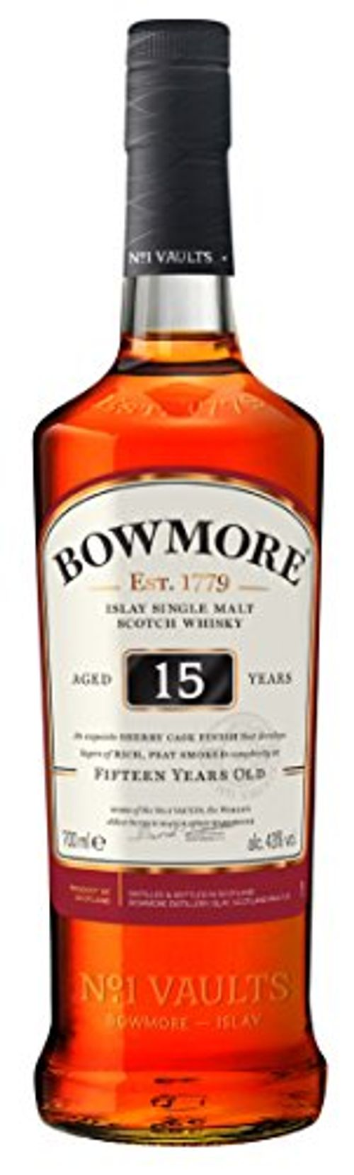 photo Wallpaper of Bowmore-Bowmore Islay Single Malt Scotch Whisky 15 Jahre (1 X-