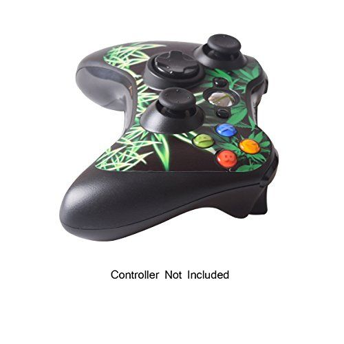 photo Wallpaper of GameXcel-GameXcel ® Xbox 360 Controller Skin   Schutz Vinyl Aufkleber Für-Weeds Black
