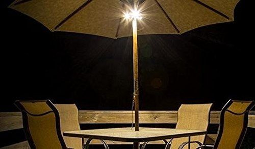 photo Wallpaper of Ion-ION Audio Patio Mate   Sonnenschirmleuchte Mit BT Speaker,-Braun