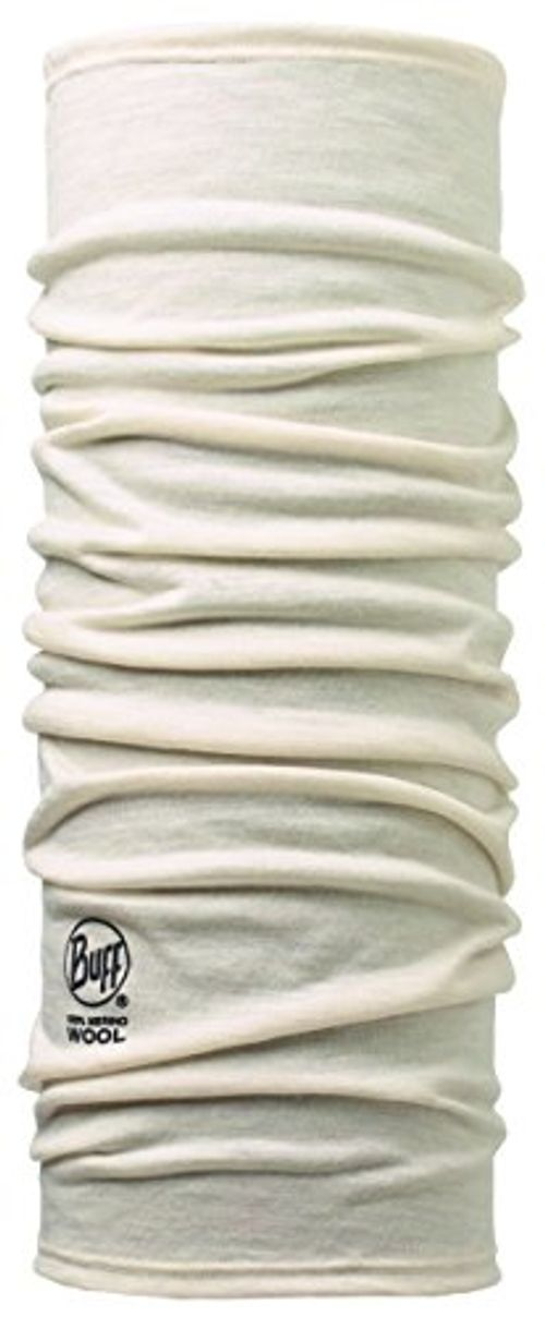 photo Wallpaper of Buff-Buff Erwachsene Multifunktionstuch Merino, Snow, One Size, 108812.00-Solid Snow
