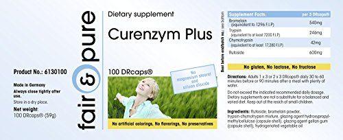 photo Wallpaper of Fair & Pure-Curenzym Plus, Enzym Komplex Mit Zeitverzögerter Freisetzung, Ohne Magnesiumstearat, 100-